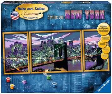 Skyline von New York Malen und Basteln;Malen nach Zahlen - Bild 1 - Ravensburger
