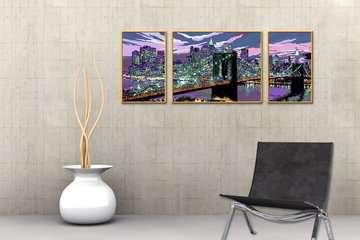 Skyline van New York Hobby;Schilderen op nummer - image 4 - Ravensburger