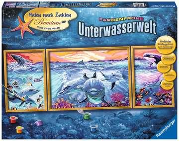 Kleurrijke onderwaterwereld Hobby;Schilderen op nummer - image 1 - Ravensburger