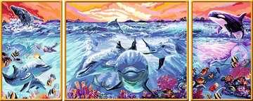 Kleurrijke onderwaterwereld Hobby;Schilderen op nummer - image 3 - Ravensburger