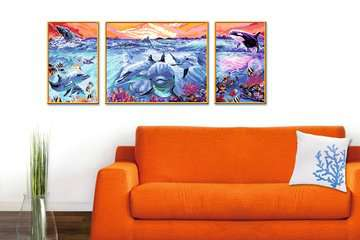 Kleurrijke onderwaterwereld Hobby;Schilderen op nummer - image 4 - Ravensburger