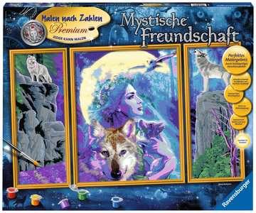 Mystieke vriendschap / Amitié mystique Loisirs créatifs;Peinture - Numéro d art - Image 1 - Ravensburger