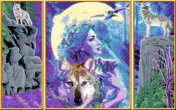 Mystieke vriendschap / Amitié mystique Loisirs créatifs;Peinture - Numéro d art - Image 3 - Ravensburger