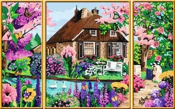 28982 Malen nach Zahlen Zauberhaftes Cottage von Ravensburger 2