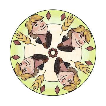Mandala - mini - Disney La Reine des Neiges 2 Loisirs créatifs;Dessin - Image 4 - Ravensburger