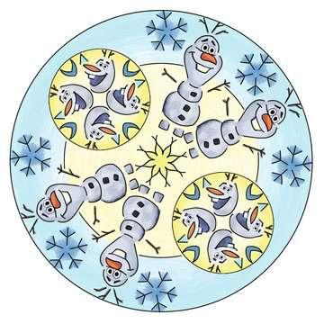Mandala - midi - Disney La Reine des Neiges 2 Loisirs créatifs;Dessin - Image 9 - Ravensburger