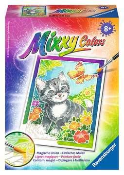 Katze und Schmetterling Malen und Basteln;Malsets - Bild 1 - Ravensburger