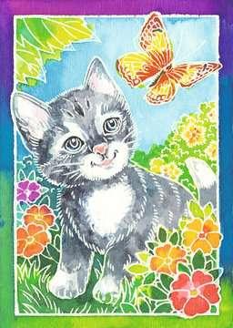 Katze und Schmetterling Malen und Basteln;Malsets - Bild 2 - Ravensburger