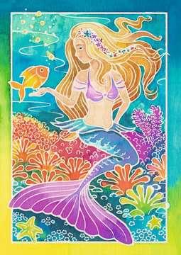 Meerjungfrau Malen und Basteln;Malsets - Bild 2 - Ravensburger