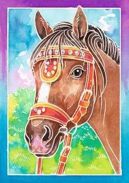 29114 Malsets Pferdeportrait von Ravensburger 2
