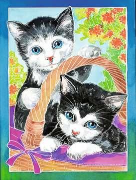 Kätzchen Malen und Basteln;Malsets - Bild 3 - Ravensburger