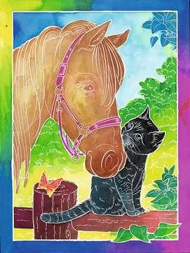 Pferdefreunde Malen und Basteln;Malsets - Bild 2 - Ravensburger