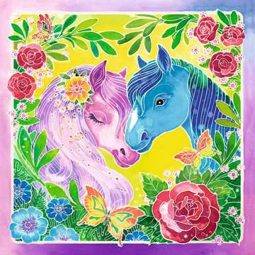 Bunte Ponys Malen und Basteln;Malsets - Bild 2 - Ravensburger