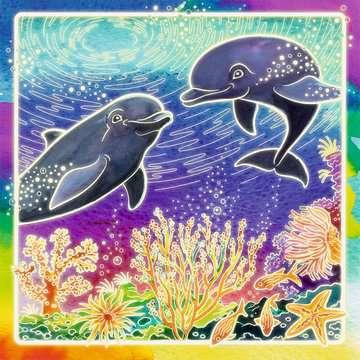 29435 Malsets Welt der Delfine von Ravensburger 3