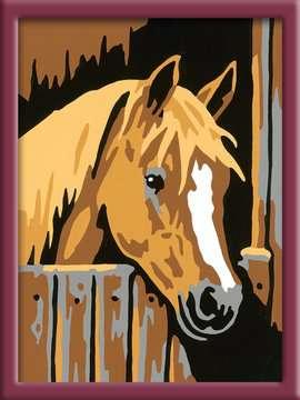 Numéro d art - mini - Cheval dans son box Loisirs créatifs;Peinture - Numéro d'Art - Image 2 - Ravensburger