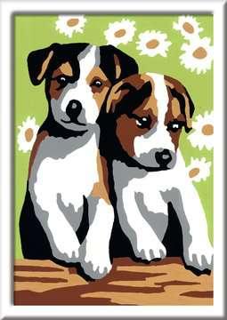Schattige puppies Hobby;Schilderen op nummer - image 2 - Ravensburger