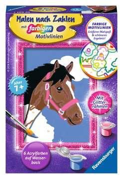 Pferd Malen und Basteln;Malen nach Zahlen - Bild 1 - Ravensburger