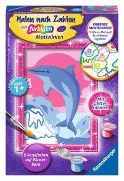 Delfin Malen und Basteln;Malen nach Zahlen - Bild 1 - Ravensburger