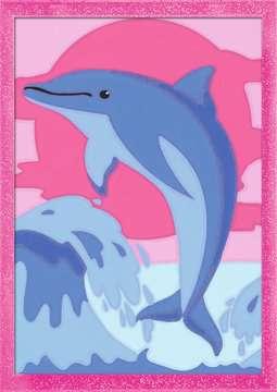 Delfin Malen und Basteln;Malen nach Zahlen - Bild 2 - Ravensburger