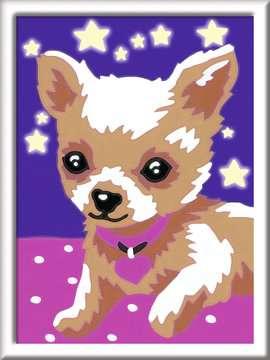 Numéro d art - mini - Petit chien qui brille Loisirs créatifs;Peinture - Numéro d'Art - Image 2 - Ravensburger