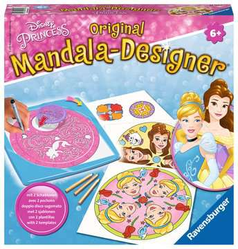 2 in 1 Mandala-Designer® Disney Princess Hobby;Mandala-Designer® - image 1 - Ravensburger