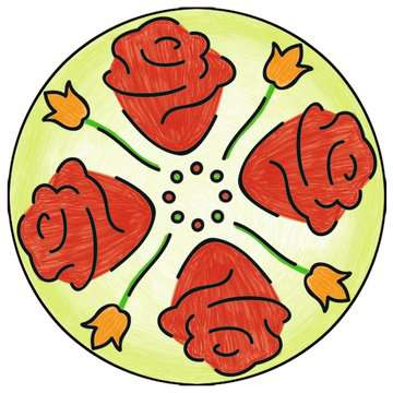 2 in 1 Mandala-Designer® Disney Princess Hobby;Mandala-Designer® - image 4 - Ravensburger