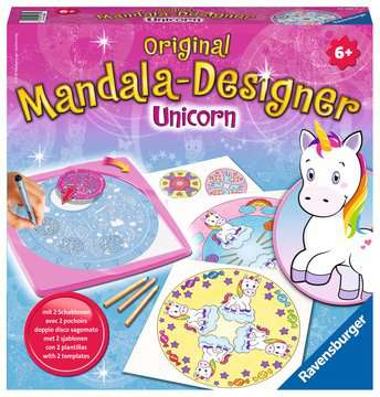 Midi Mandala-Designer 2 in 1 - Unicorn Hobby;Mandala-Designer® - image 1 - Ravensburger