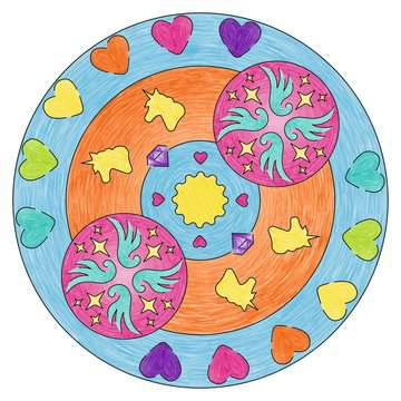 Midi Mandala-Designer 2 in 1 - Unicorn Hobby;Mandala-Designer® - image 8 - Ravensburger