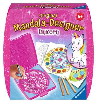 Mandala - mini - Unicorn Loisirs créatifs;Dessin - Image 1 - Ravensburger