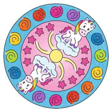 Mandala - mini - Unicorn Loisirs créatifs;Dessin - Image 3 - Ravensburger