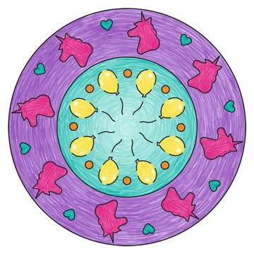 Mandala - mini - Unicorn Loisirs créatifs;Dessin - Image 6 - Ravensburger