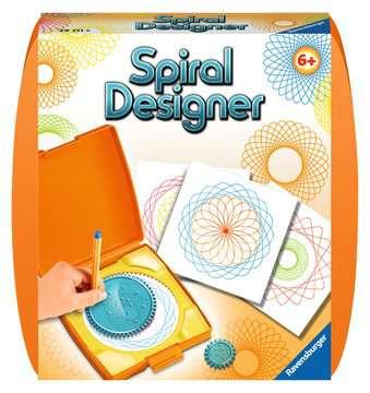 Spiral Designer Mini  orange Loisirs créatifs;Dessin - Image 1 - Ravensburger