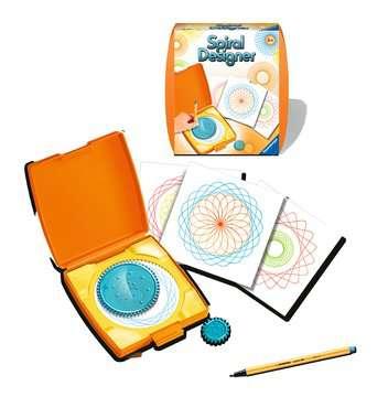 Spiral Designer Mini  orange Loisirs créatifs;Activités créatives - Image 2 - Ravensburger