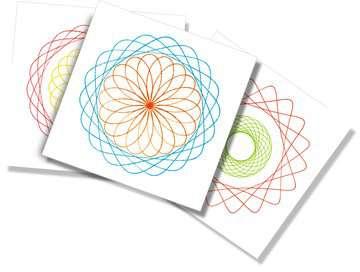 Spiral Designer Mini  orange Loisirs créatifs;Dessin - Image 4 - Ravensburger