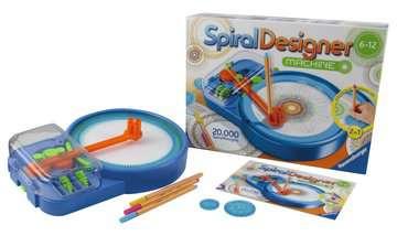 Spiral-Designer-Maschine Malen und Basteln;Malsets - Bild 24 - Ravensburger