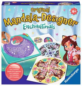Mandala - midi - Enchantimals Loisirs créatifs;Dessin - Image 1 - Ravensburger