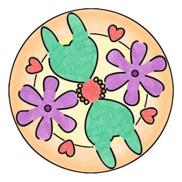 Mandala Designer® Enchantimals Malen und Basteln;Malsets - Bild 5 - Ravensburger