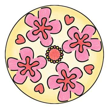 Mandala - midi - Enchantimals Loisirs créatifs;Dessin - Image 7 - Ravensburger