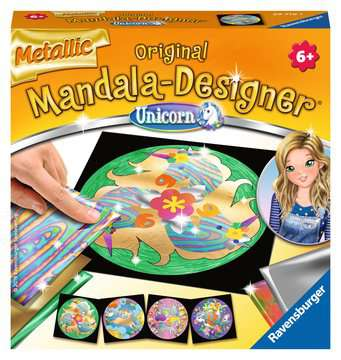 Metallic Mandala-Designer Unicorn Hobby;Mandala-Designer® - image 1 - Ravensburger