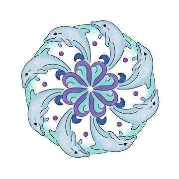 2in1 Mandala-Designer® Ocean Dreams Loisirs créatifs;Mandala-Designer® - Image 3 - Ravensburger