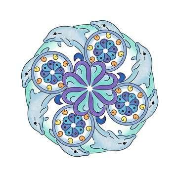 2in1 Mandala-Designer® Ocean Dreams Loisirs créatifs;Mandala-Designer® - Image 6 - Ravensburger