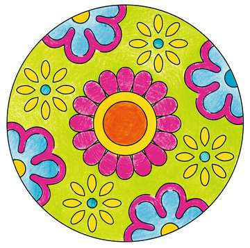 Mini Mandala-Designer® Flower Power Arts & Crafts;Mandala-Designer® - image 2 - Ravensburger
