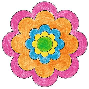 Mini Mandala-Designer® Flower Power Arts & Crafts;Mandala-Designer® - image 3 - Ravensburger