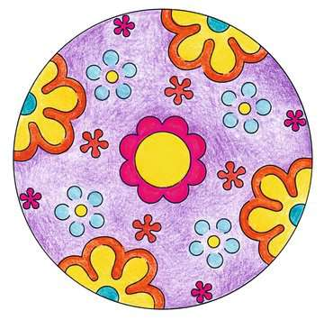 Mini Mandala-Designer® Flower Power Arts & Crafts;Mandala-Designer® - image 4 - Ravensburger