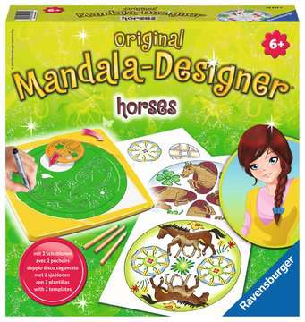 2in1 Mandala-Designer® Horses Hobby;Mandala-Designer® - image 1 - Ravensburger