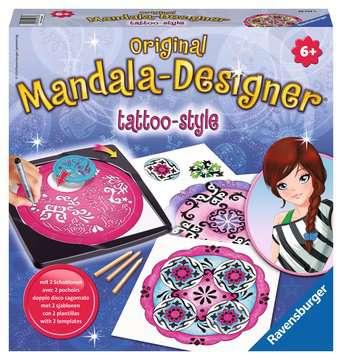 2-in-1 Mandala-Designer® Tattoo Arts & Crafts;Mandala-Designer® - image 1 - Ravensburger