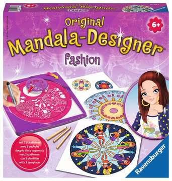 2in1 Mandala-Designer® Fashion Hobby;Mandala-Designer® - image 1 - Ravensburger