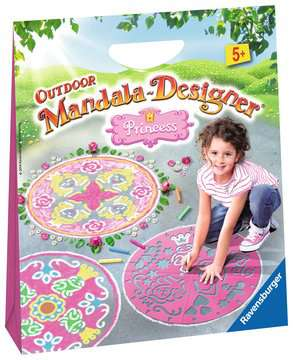 Outdoor Mandala-Designer®: Princess Arts & Crafts;Mandala-Designer® - image 1 - Ravensburger