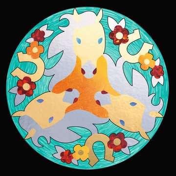 29761 Malsets Metallic Mandala-Designer Horses von Ravensburger 3