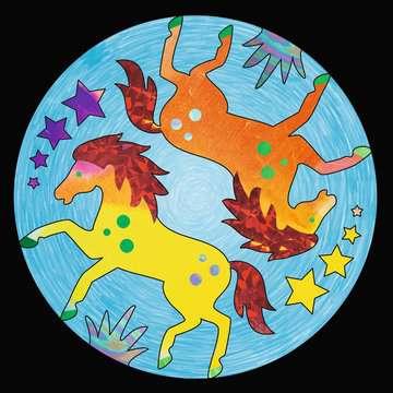 29761 Malsets Metallic Mandala-Designer Horses von Ravensburger 4